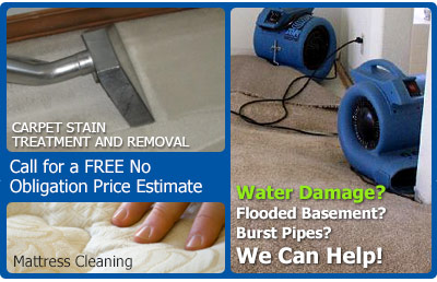 water damages | mattress cleaning